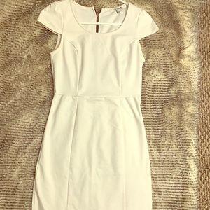 FOREVER 21 WHITE COCKTAIL DRESS